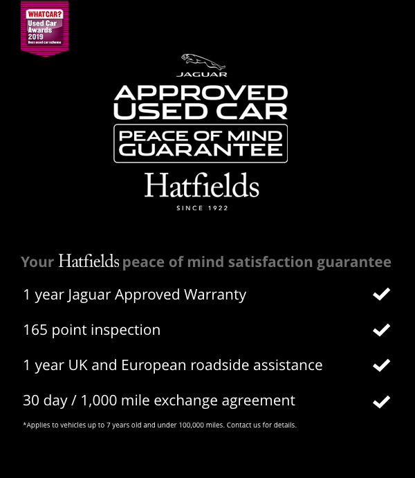 Approved used car peace of mind guarantee
